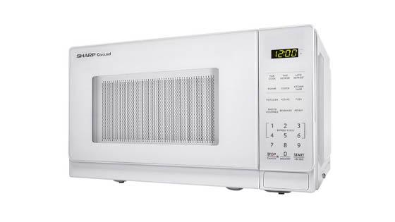 Sharp-ZSMC0710BW-Countertop-Microwave-for-Seniors