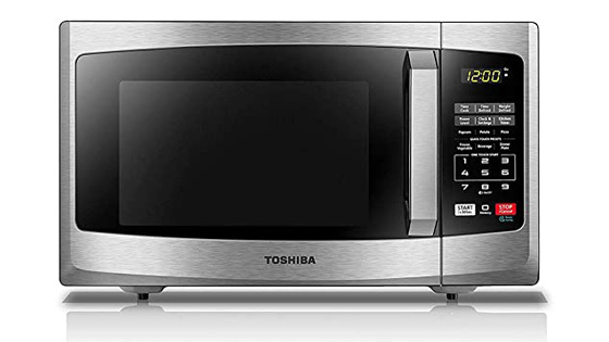 Toshiba-EM925A5A-SS-microwave-with-mute-button