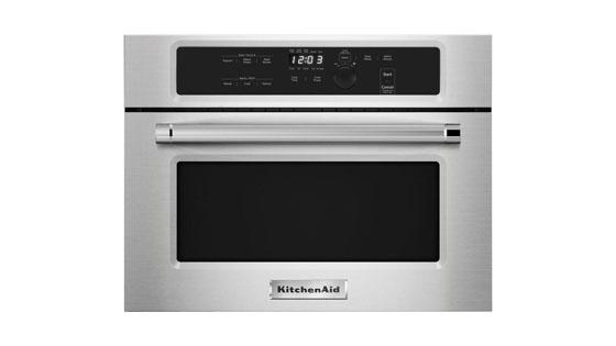 Built-in Microwave with Drop Down Door KitchenAid KMBS104ESS