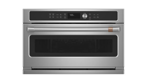 Convection Microwave with Pull Down Door Cafe CWB713P2NS1
