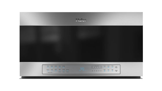 Haier QVM7167RNSS Over the Range Microwave with Lighted Keypad