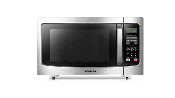 TOSHIBA-EM131A5C-BS-Microwave-with-Rice-Button