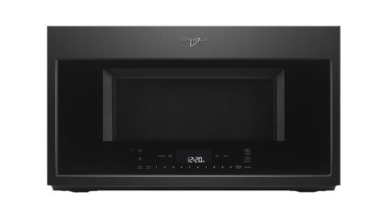 Whirlpool WMH78019HB Over the Range Microwave with Lighted Keypad