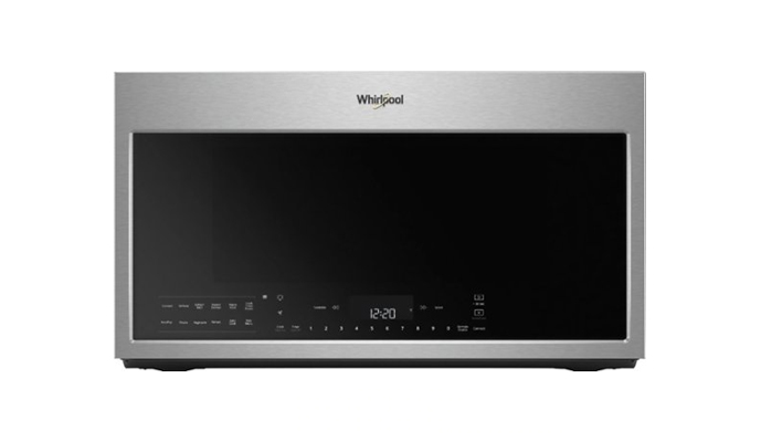 Whirlpool WMH78019HZ Convection Over-the-Range Microwave Oven