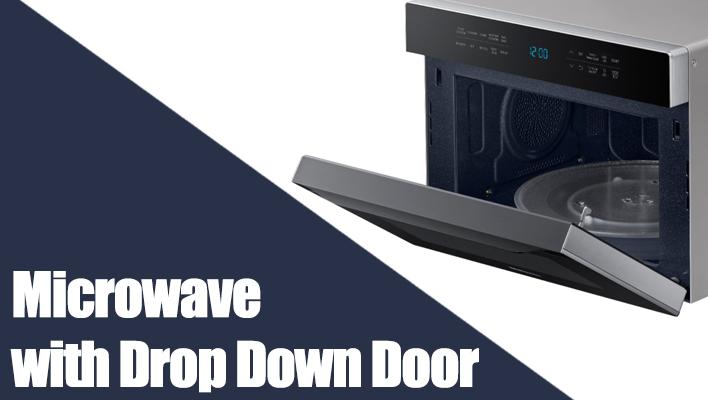 microwave-with-drop-down-door