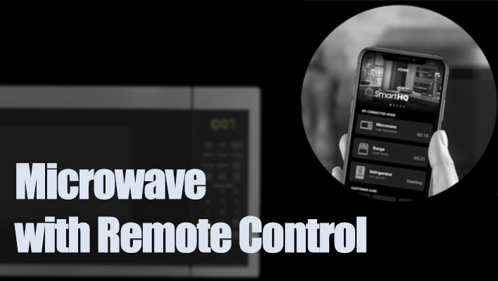 microwave-with-remote-control