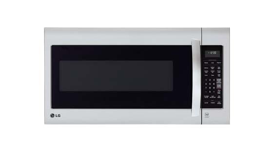LG LMV2031ST Microwave with Metal Rack