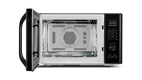 Toshiba AC028A2CA Stainless Steel Interior