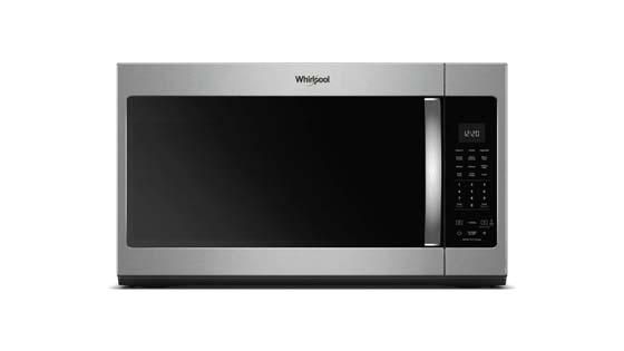 Whirlpool WMH32519HZ Microwave with Metal Rack