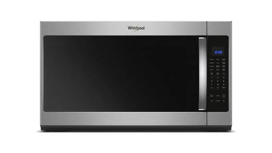 Whirlpool WMH53521HZ Over-the-Range Microwave with Steam Cooking