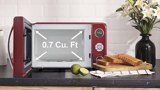 small lightweight microwave