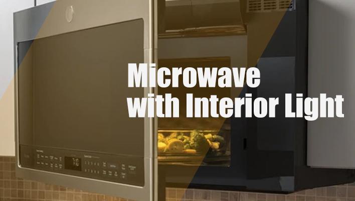 Microwave-with-Interior-Light